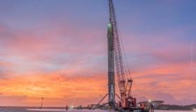 Erster Falcon Heavy Testflug von SpaceX: Start und Landung!